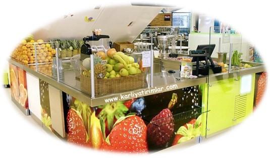 meyve suyu kiosk karli yatirimlar