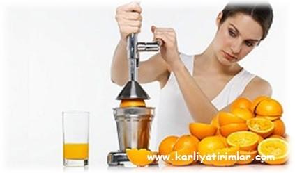 portakal suyu satmak