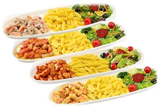 tavuk-salata-makarna-konsept