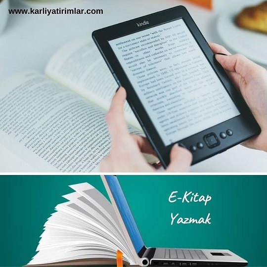 evden-yapilabilecek-isler-e-kitap-yazmak