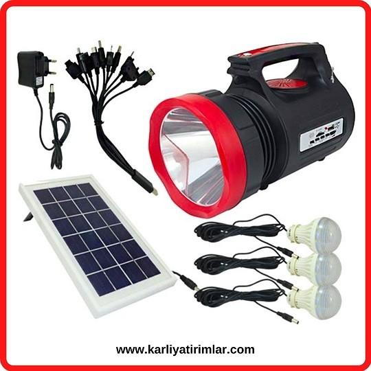 inovasyon örnekleri güneş enerjili el feneri