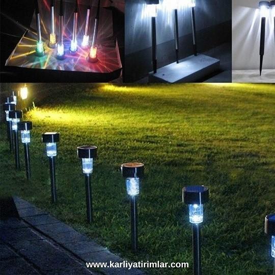 inovasyon örnekleri güneş enerjil bahçe aydınlatması