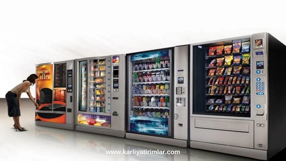 is fikirleri otomat makineleri, vending
